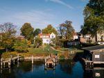 Die Villa Blanck und ihre Stege
