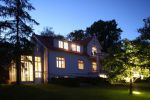Villa Blanck bei Nacht